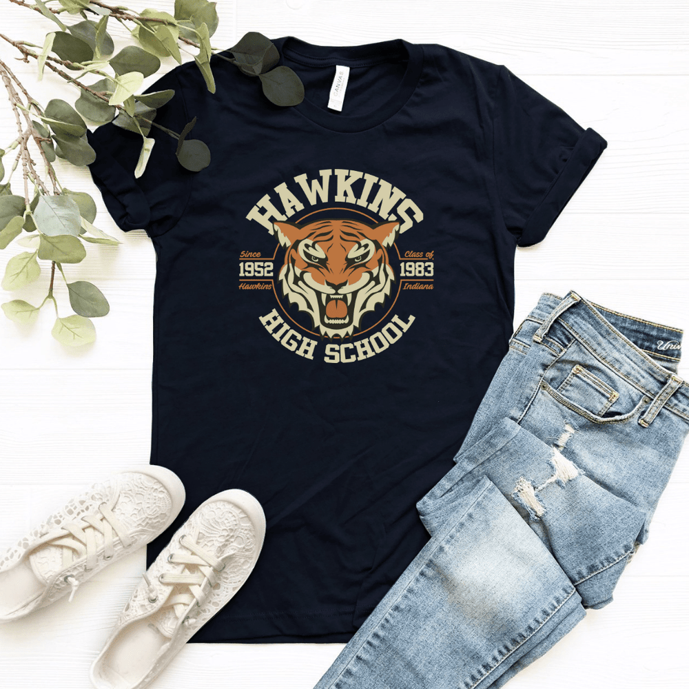 Stranger Things Shirt Inspired , Hawkins Shirt, Hawkins Middle School, The Upside Down, Eleven - Funkyappareltees