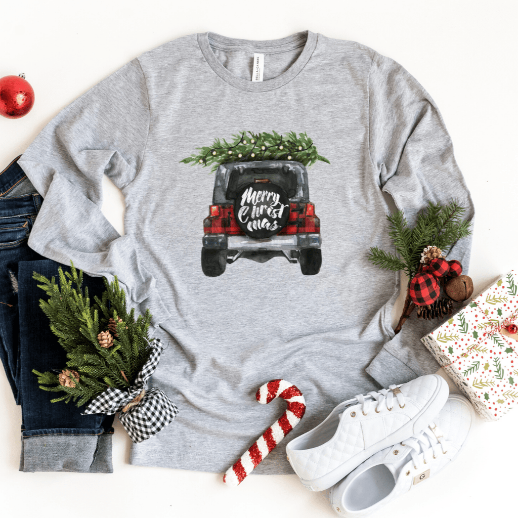 Christmas Jeep Shirts, Buffalo Plaid Shirt , Jeep, Christmas Shirts, Merry Christmas Shirt, Christmas Gift, Jeeps, Jeep Wrangler
