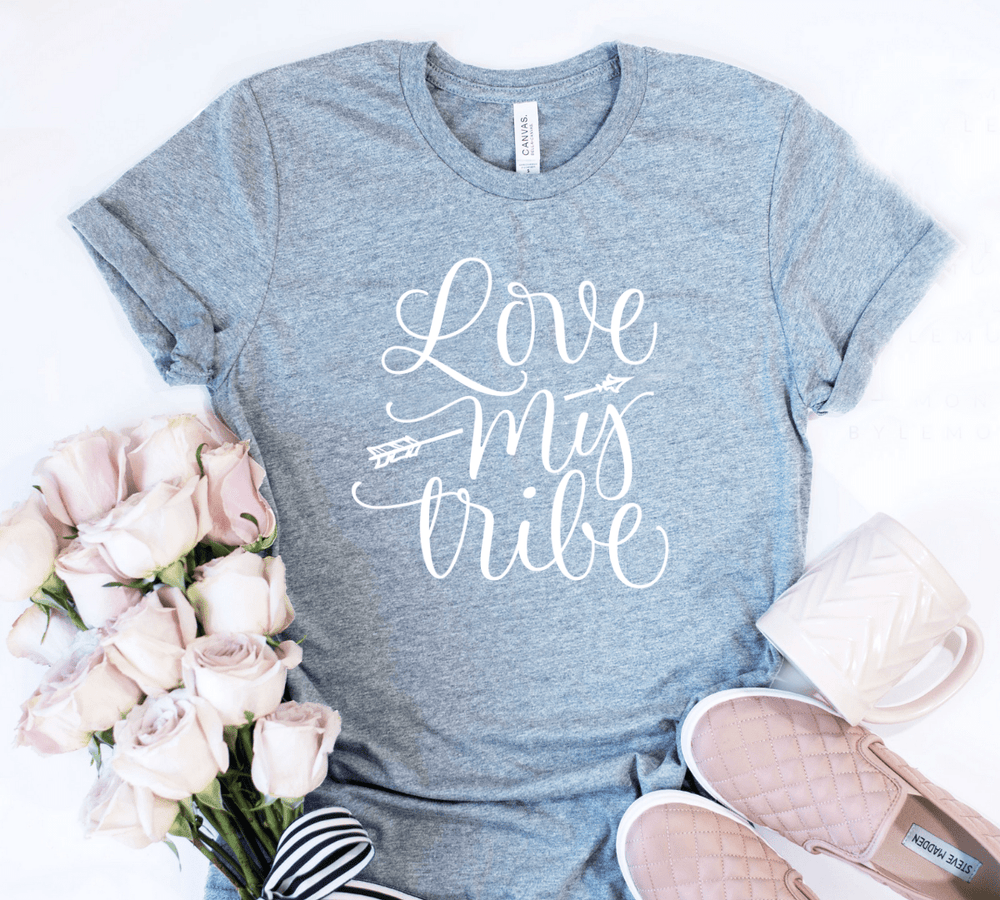 Love My Tribe Mom Shirt - Funkyappareltees