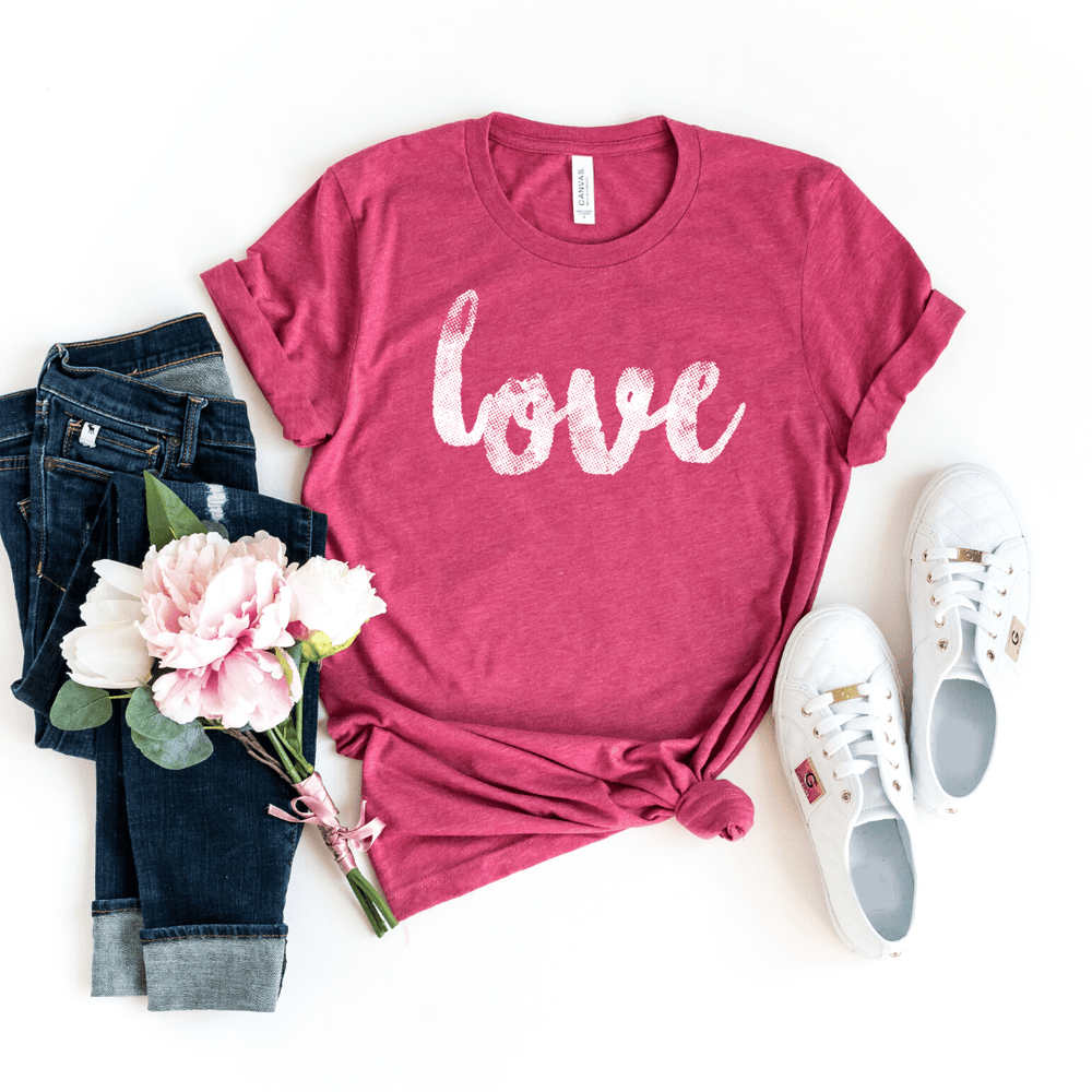Love Shirt, Valentines Day Gift Shirt, Valentines Gifts for him her girlfriend, Valentines Day - Funkyappareltees
