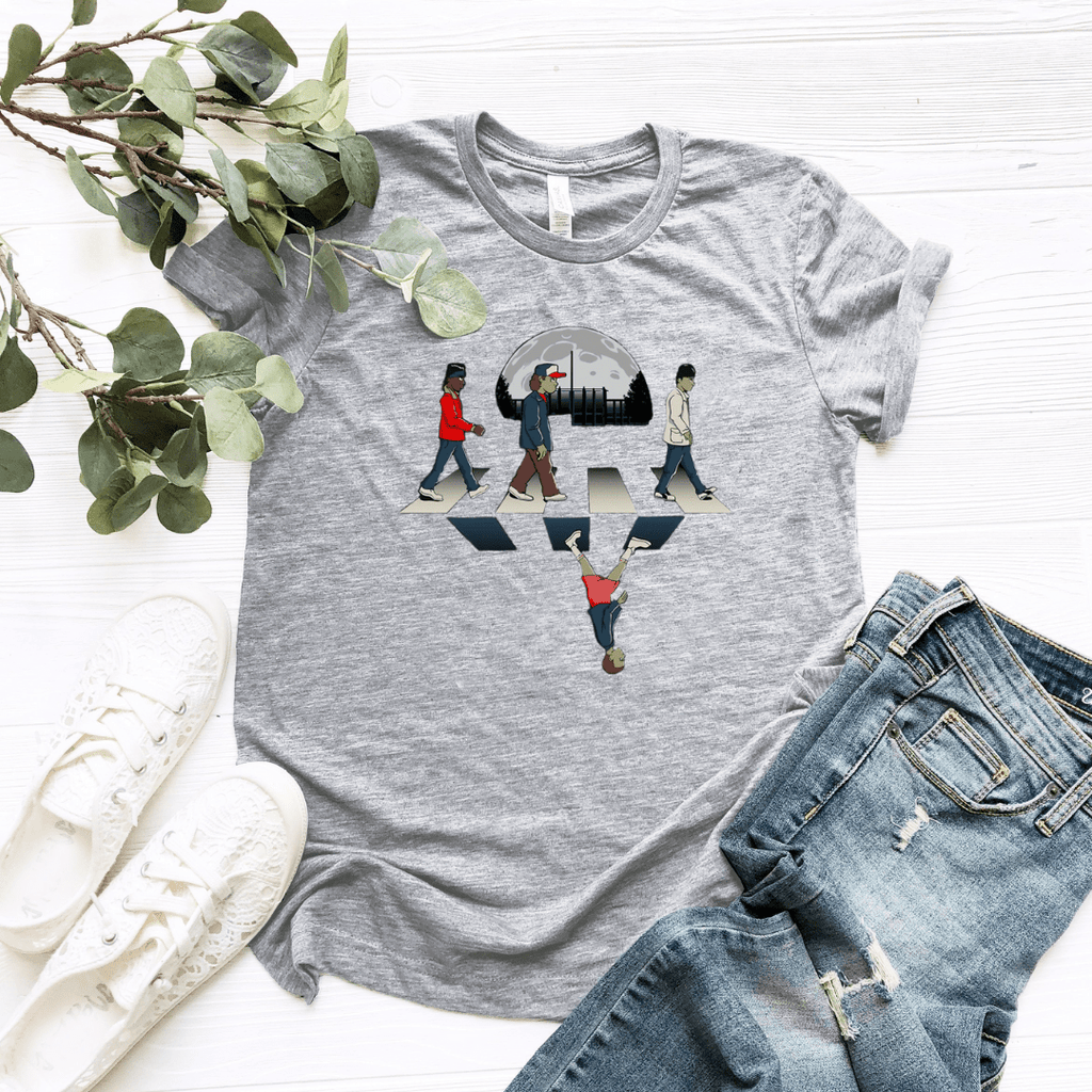 Dustin Mike Lucas Upside Will Women Relaxed T Shirt - Funkyappareltees