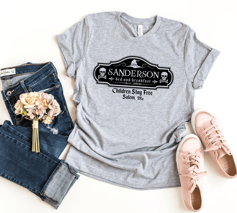 Sanderson sisters bed and breakfast, halloween shirt, hocus pocus, witch ,witch shirt ,fall shirts ,witch shirt ,halloween, fall, hocus pocus shirt