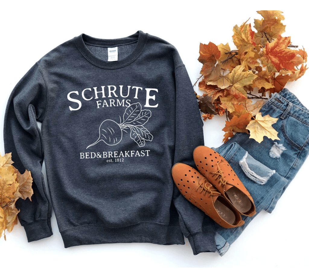 Schrute Farms Sweatshirt, The Office Sweatshirt, The Office Shirt, Schrute Farms Shirt, The Office Schrute Farms, Dwight Schrute, - Funkyappareltees