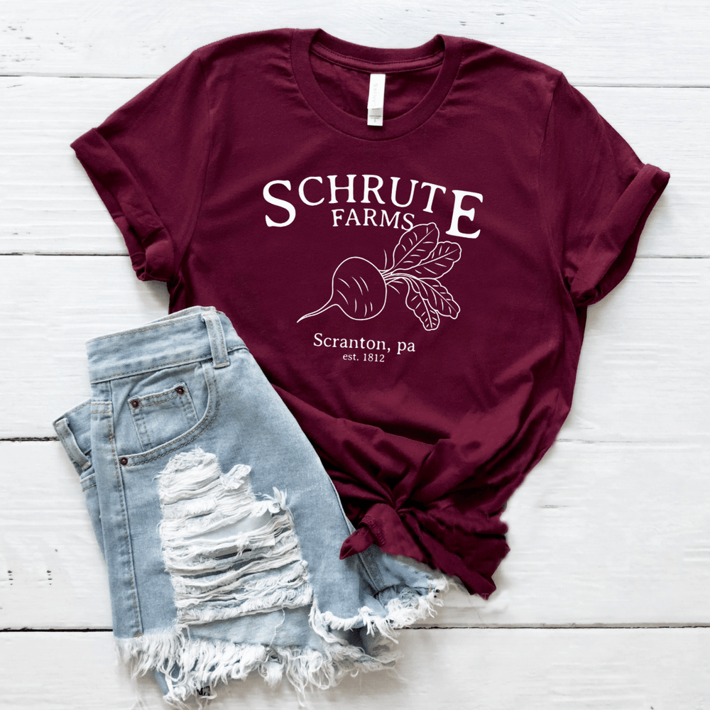 Schrute Farms T Shirt  The Office - Funkyappareltees