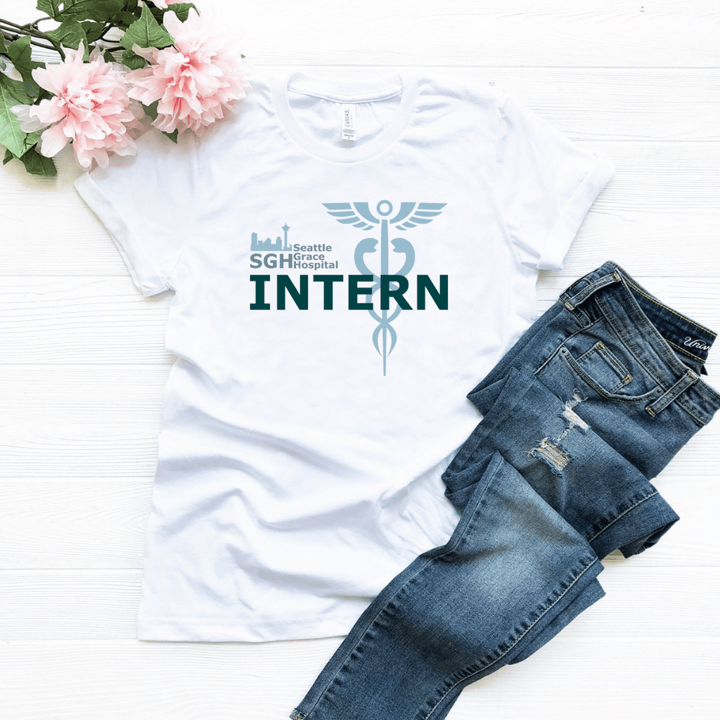 Seattle Grace Hospital Intern T Shirt - Funkyappareltees