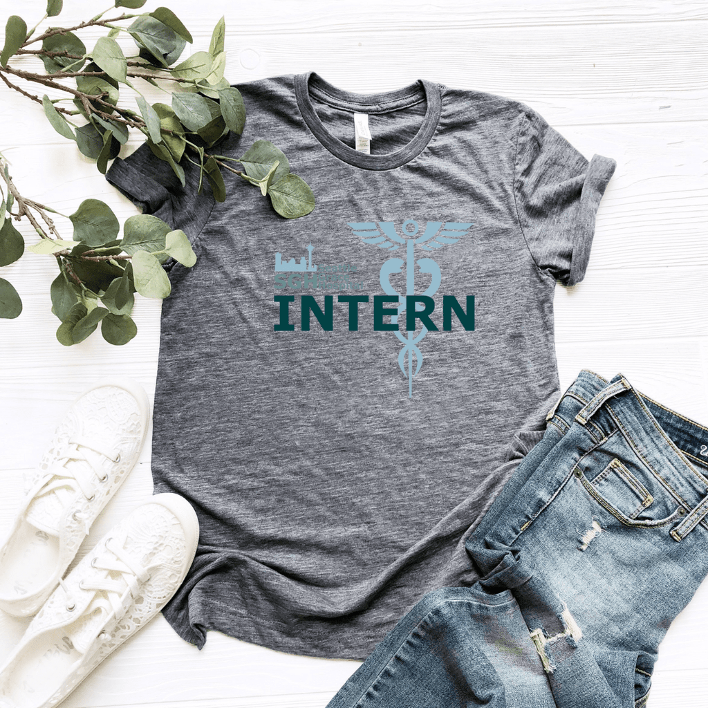 Seattle Grace Hospital Intern Women Relaxed T Shirt - Funkyappareltees