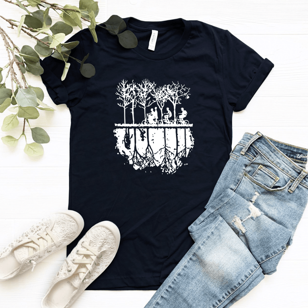 Stranger Things Shirt Tee Top , Hawkins Shirt Tee Top, The Upside Down T Shirt Tee Top, Eleven Pullover Sweatshirt Hawkins - Funkyappareltees