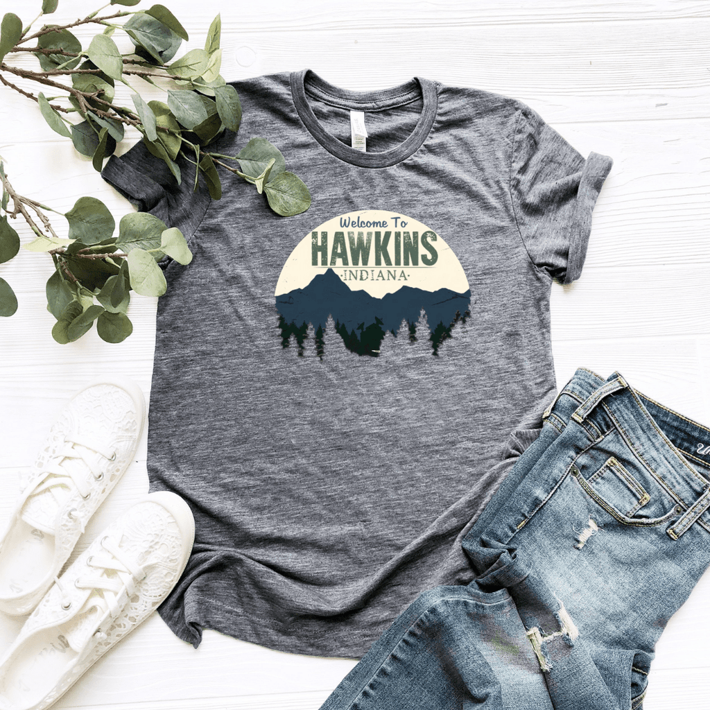 Welcome To Hawkins Graphic T Shirt - Funkyappareltees