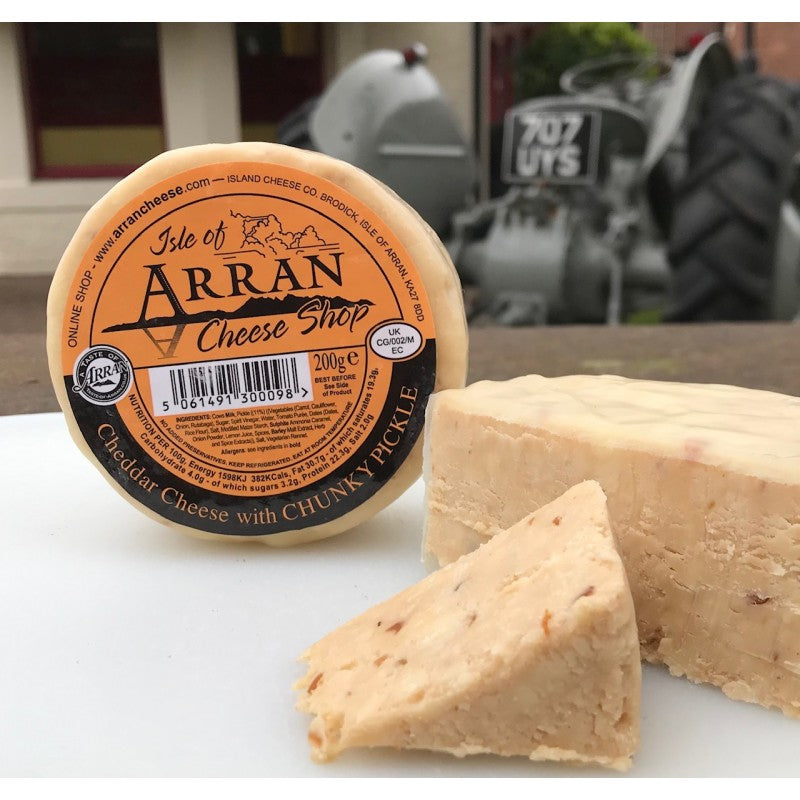 ISLE OF ARRAN CHEESE: CHUNKY PICKLE