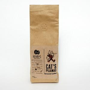 Henry's coffee : the cat's pyjamas  ground coffee 250g