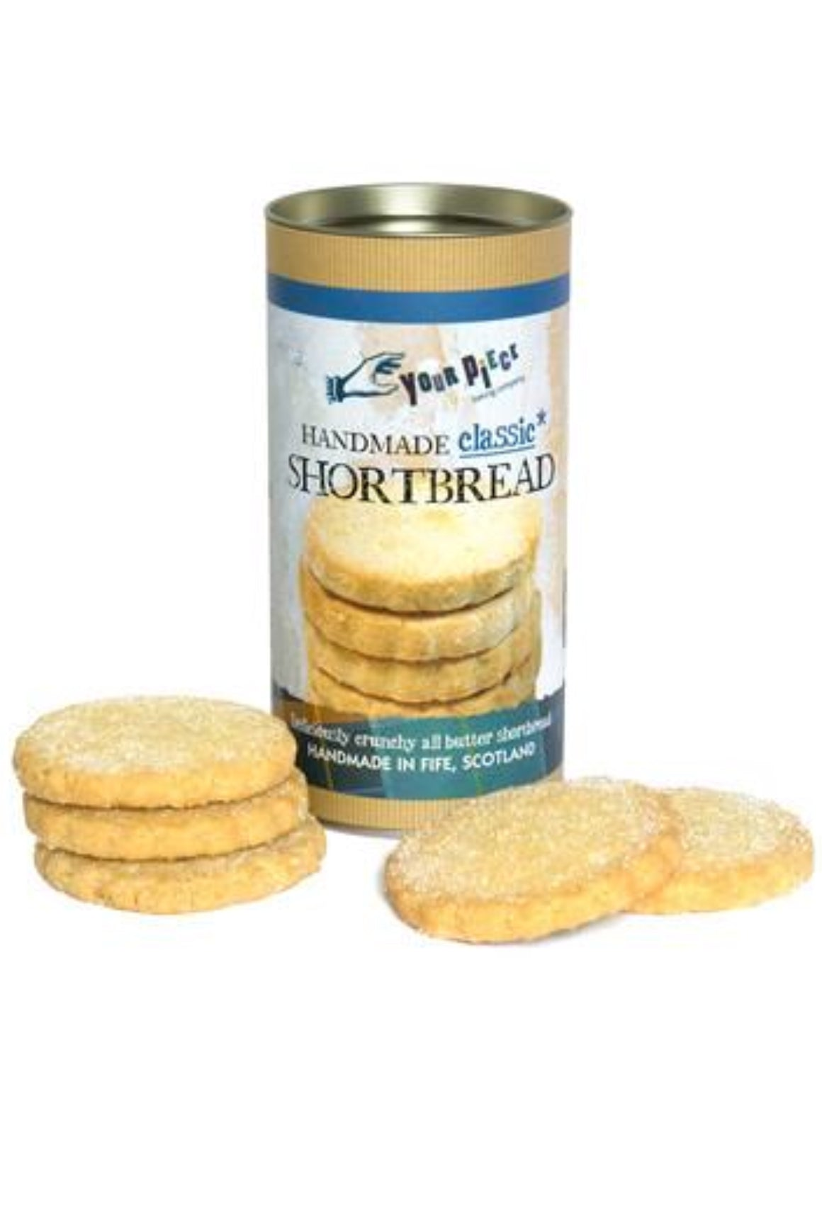 YOUR PIECE : HANDMADE CLASSIC SHORTBREAD  250 g