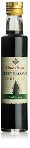 Little  Doone sweet balsamic dressing garlic