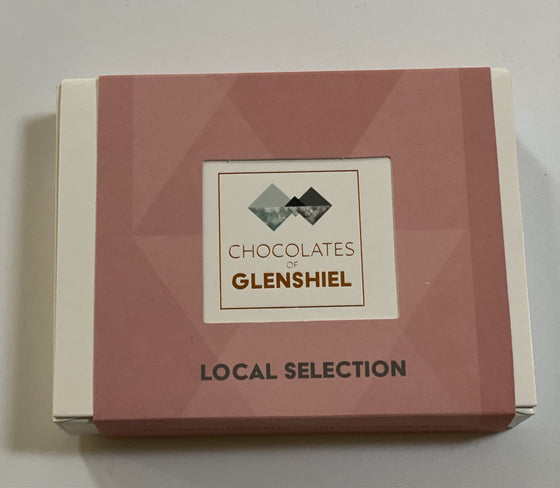 LOCAL  SELECTION CHOCOLATES  BY CHOCOLATES OF GLENSHIEL