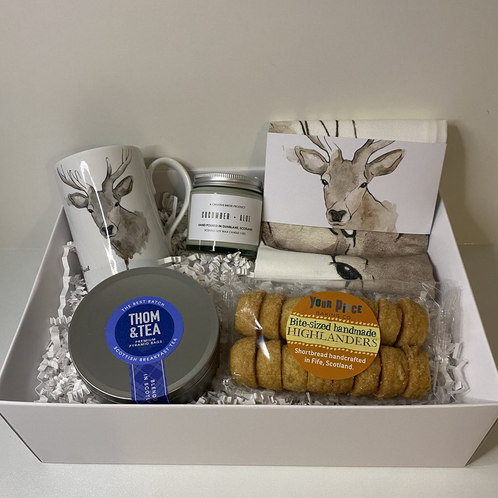 Luxury gift box with hand picked special treats