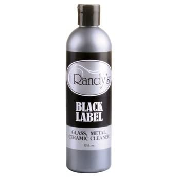 Randy's Black Label - Glass, Metal and Ceramic - 12oz