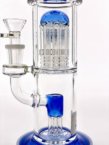 OUT OF STOCK - Diamond Glass Double Tree Bent