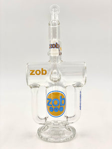 ZOB - Double Arm Recycler - Yellow/Blue Label