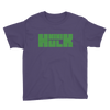 Mini Hulk™ Green Logo Youth Short Sleeve T-Shirt