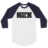 Mini Hulk™ Logo 3/4 sleeve raglan shirt