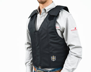 Ride Right 1000 Series Saddle Bronc Vest - Polyduct Left Side