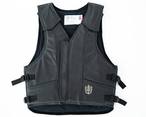 Ride Right 1100 Series Bareback Vest - Leather