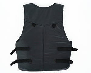 Ride Right 1100 Series Bareback Vest - Leather Flipped