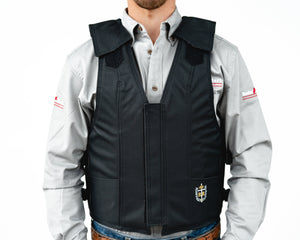Ride Right 1100 Series Bareback Vest - Polyduct Front