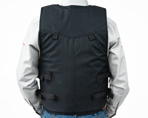 Ride Right 1100 Series Bareback Vest - Polyduct Back