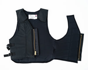 Ride Right 1100 Series Bareback Vest - Polyduct Open