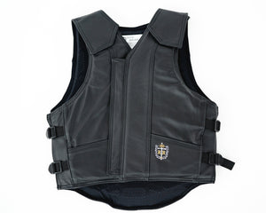 Ride Right 1200 Series Adult Rodeo Vest - Leather
