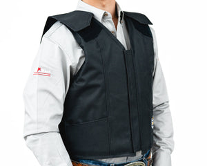Right 1200 Series Adult Rodeo Vest - Polyduct Right Side