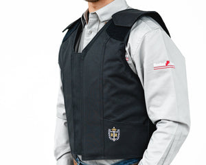 Right 1200 Series Adult Rodeo Vest - Polyduct Left Side