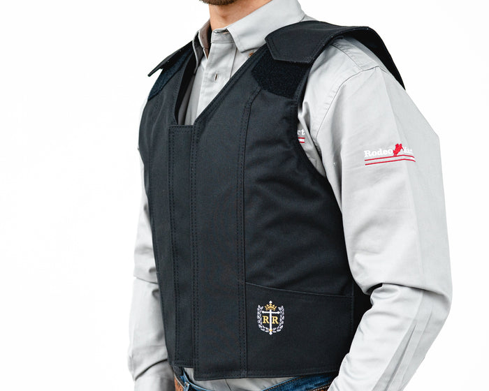 Ride Right 1200 Series Adult Rodeo Vest - Polyduct