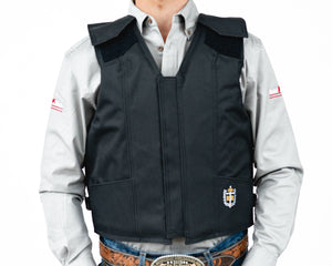 Right 1200 Series Adult Rodeo Vest - Polyduct Front
