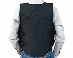Right 1200 Series Adult Rodeo Vest - Polyduct Back