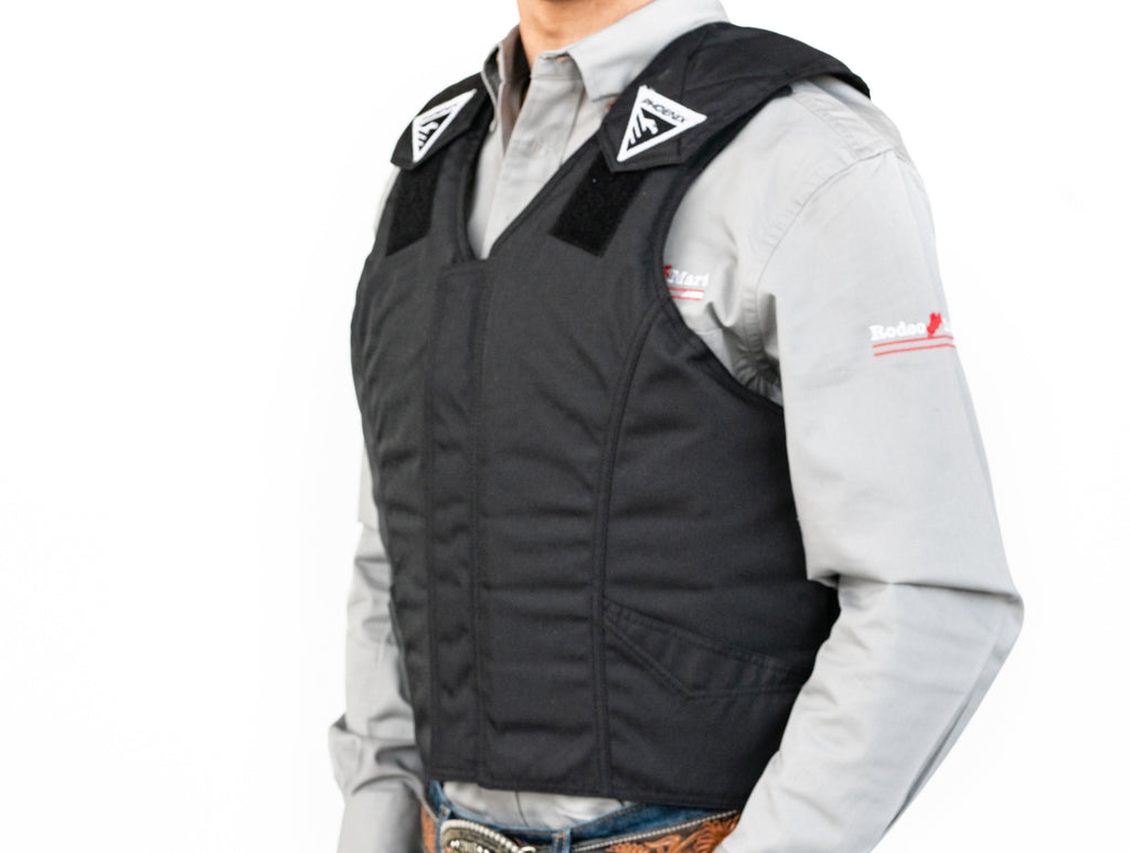 1225 Phoenix Pro Max 1000 Adult Protective Vest Left Side