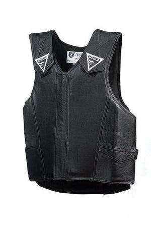 Black Leather 2020 Phoenix Pro Max Rodeo Vest