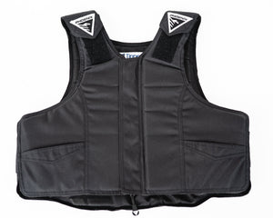 Black 2035 Phoenix Pro Max Youth Rodeo Vest in Nylon