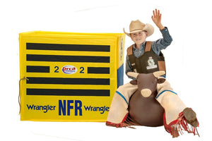Bouncy Bull with NFR Chutes