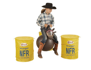 Bouncy Horse with NFR Barrels