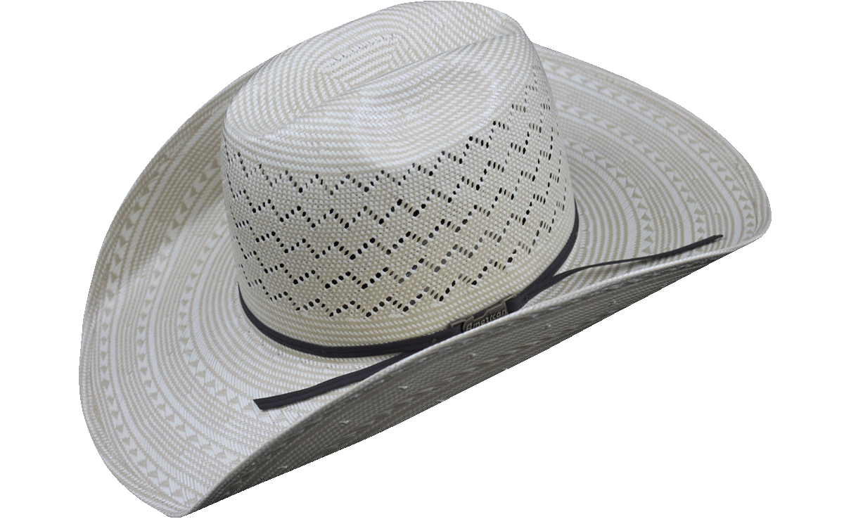 faab3aba148 American Hat Co 6200 Fancy Weave and Vent Straw Hat - Ivory Tan – Rodeo Mart