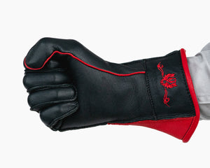 Bull Riding Glove with Stitching on the Outside