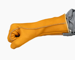 Beastmaster Bareback Riding Glove Fist Side View