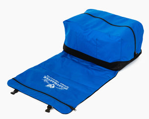 Beastmaster Rodeo Gear Bags - Large Royal Blue Folded Out