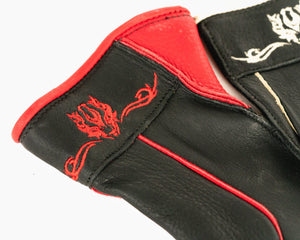 Beastmaster Youth Bull Riding Glove - Red