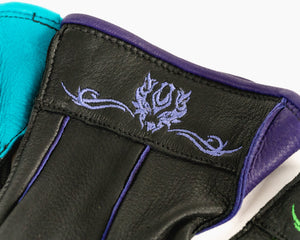 Beastmaster Youth Bull Riding Glove - Purple