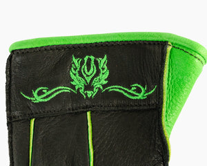 Beastmaster Youth Bull Riding Glove - Green