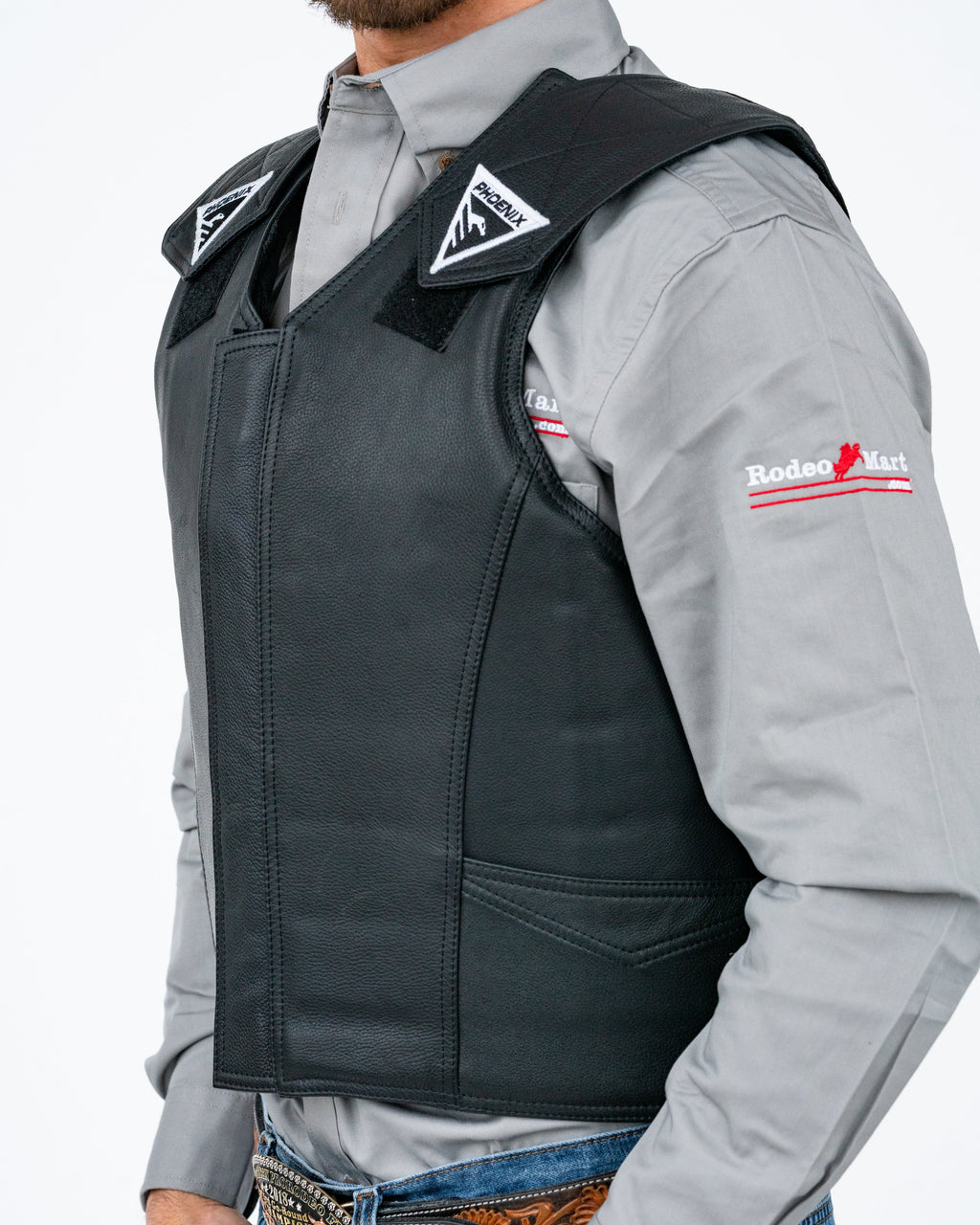 2020 Phoenix Pro Max Adult Rodeo Vest Left Side