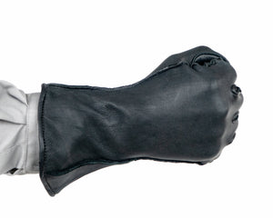 1RM Bull Riding Glove in Black Fist Back