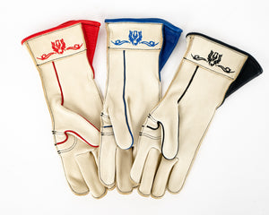 Beastmaster Cream Bull Riding Gloves